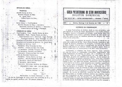 BOLETIM IPSU - HISTÓRIA INICIAL 001